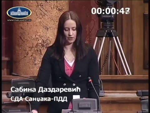 Narodna poslanica u Skupštini Srbije Sabina Dazdarević ukazuje na probleme putne infrastrukture i sedištem suda i javnog tužilaštva