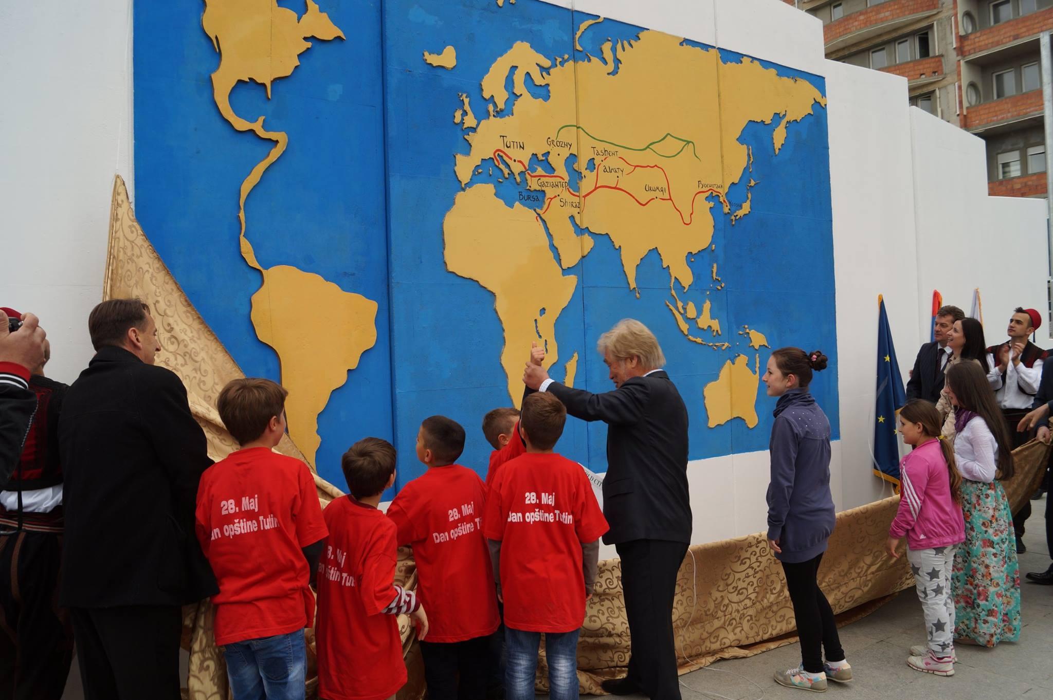 Obeležen Dan opštine Tutin: Otvorena Kuća mira i Mapa puta svile