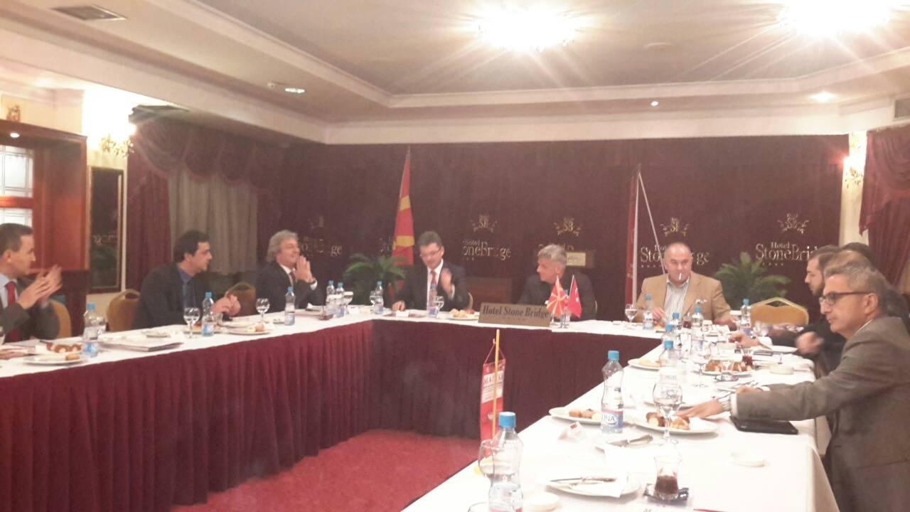 Predsjednik opštine Šemsudin Kučević prisustvovao okruglom stolu privredne delegacije Makedonije i Turske