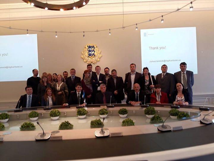 Predsjednik opštine Tutin Šemsudin Kučević je u posjeti Estoniji