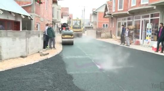 U naselju Velje polje asfaltirana ulica u dužini od 350 metara