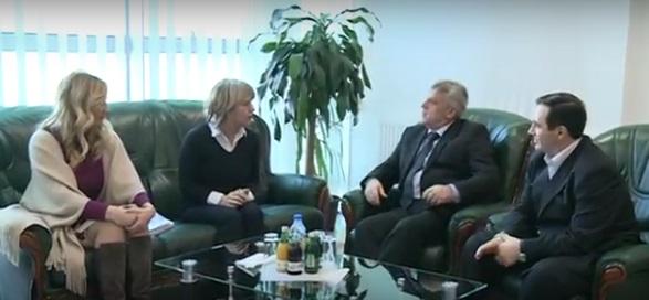 Predstavnici Ministarstva omladine i sporta posjetili predsjednika opštine Tutin
