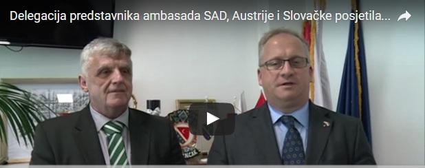 Delegacija predstavnika ambasada SAD, Austrije i Slovačke posjetila opštinu Tutin