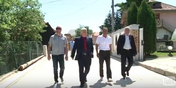 Predsjednik opštine Tutin obišao radove na asfaltiranju ulice Pazarske u Tutinskom naselju Kleče