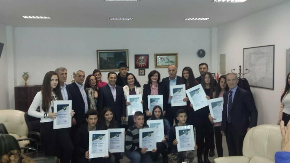 Dodela zahvalnica najboljim ucenicima i nastavnicima Osnovnih i Srednjih skola na teritoriji opstine Tutin
