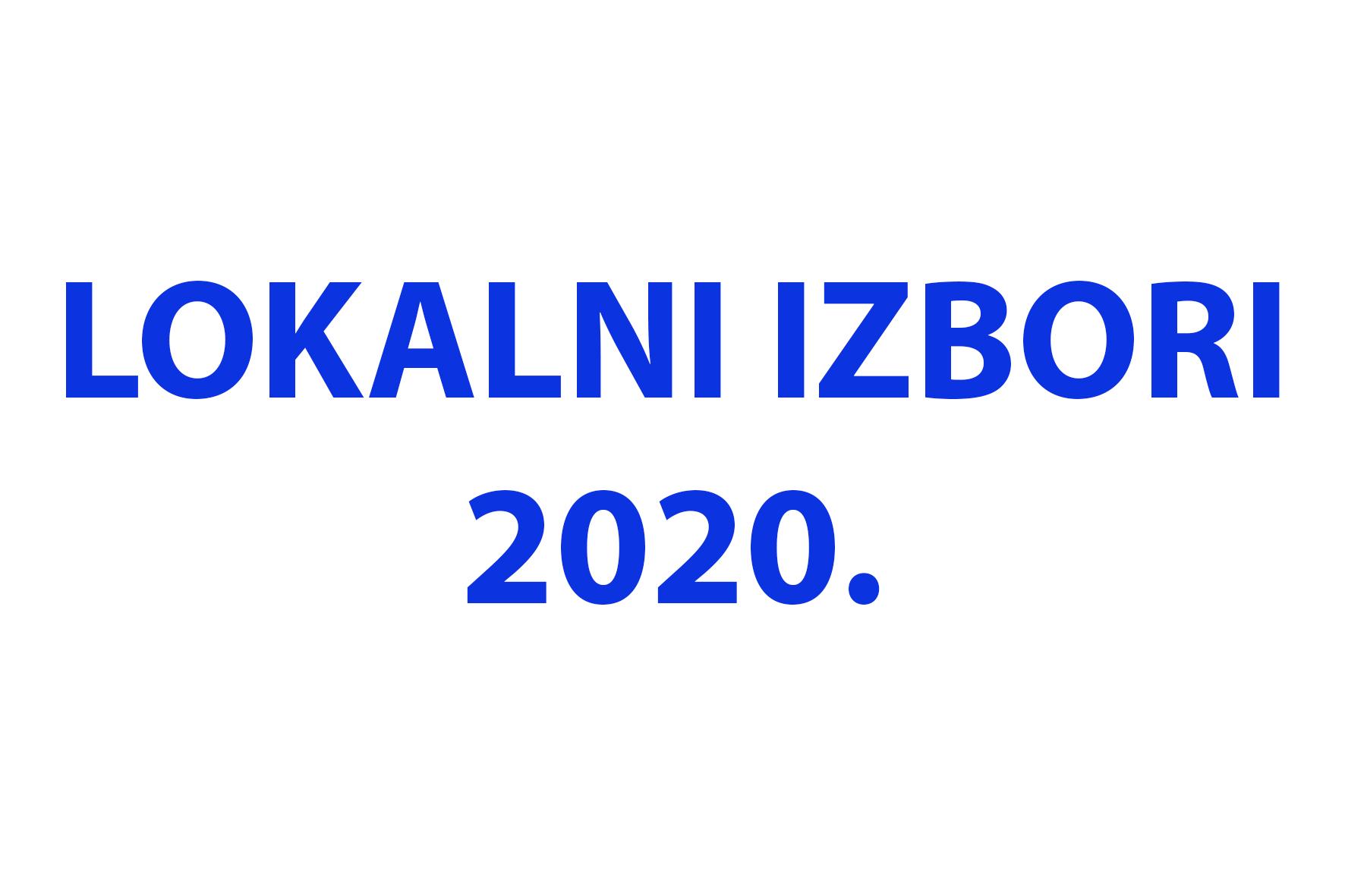 Lokalni izbori 2020.