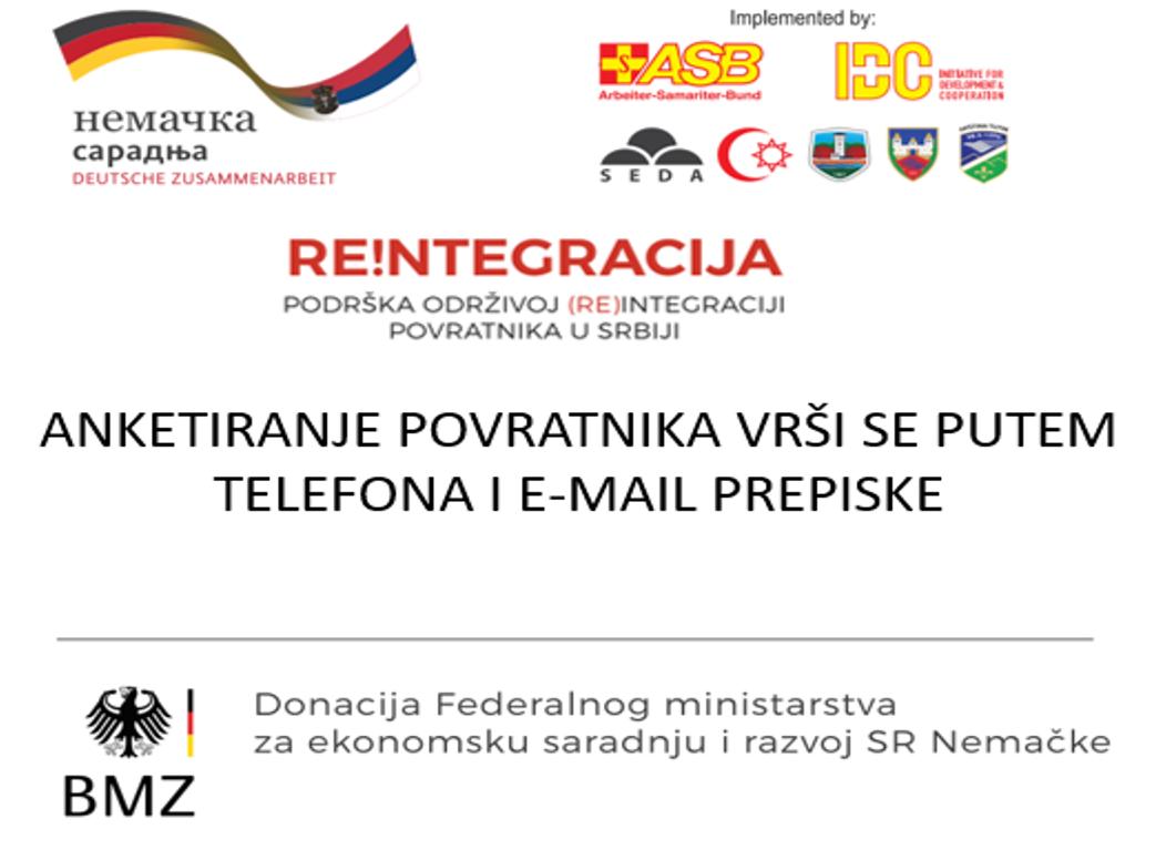 Re!ntegracija – podrška održivoj (re)integraciji povratnika u Srbiju Anketiranje povratnika – promena u aktivnosti